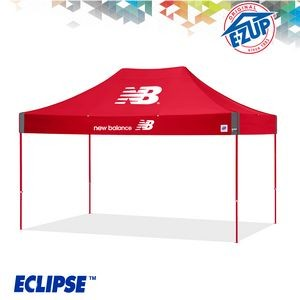 Eclipse™ 10' x 15' Color Imprint Professional Tent w/ Steel Frame